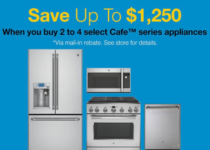 GE Cafe Savings